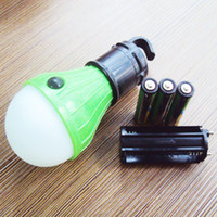 3AAA Batteries Included LED Camping Bulb 3 Switch Mode with ...