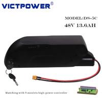 Victpower 13S4P 48V 13.6Ah 652.8Wh Литий-ионный аккумулятор для электрических велосипедов Motocycle, с 5v USB порт