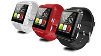 Nouvelle Arrivée U8 Smart Watch Appareils portables Reloj Inteligente Sport Bluetooth Télécommande Réponse Call Smartwatch Pour Android Ios Téléphone