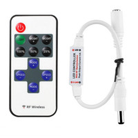 Mini Remote Controller for Single Color LED Strip Lights, RF...