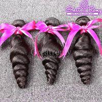 7A Loose Wave Hair Bundles Virgin Brazilian Hair Extensions ...
