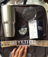 Yeti 30 oz Cups Coolers YETI Rambler Tumbler Travel Vehicle ...