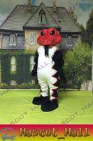 MALL102 Diamondback Snake Mascot Cartoon Costume Custom Anim...