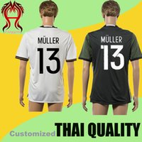 2016 UEFA Germany Thai Quality home away AAA Soccer Jersey U...