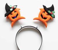LED Pumpkin Hair Clasp Hallowmas Gift 2016 Hot Selling Hair ...