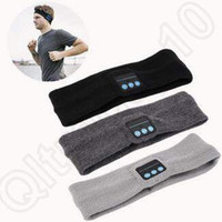 2 colores Bluetooth Music Headband Estéreo Inalámbrico Auriculares Unisex Sports Running Fitness Yoga Stretch Head Caps CCA4883 100pcs