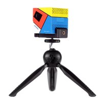 Mini treppiede regolabile a 360 ° di rotazione universale Phone Holder + Doogee Cube P1 intelligente mini LED proiettore US STOCK PA3405 PA3563