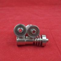 2015 titanio nuevo titanio de uñas de titanio 14 18 mm para el agua Tubo de vidrio bong Fumar