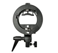 Gros-Godox type S Support Holder Bowens Mount for Speedlite Snoot Softbox Honeycomb Photo Studio Accessoires