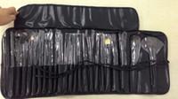 Chrismas regalo 24Pcs pinceles de maquillaje kits determinados cosméticos herramientas del maquillaje del cepillo del maquillaje con los cepillos del bolso de cuero forman para usted