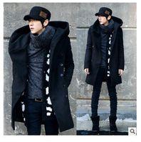 2016 Mens Windbreaker Jackets Fashion Solid Wholesale Black ...