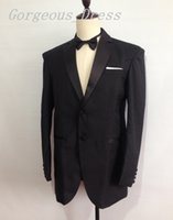 Simple Design Blazer Man Suit Wedding Dresses Notch Lapel Tw...
