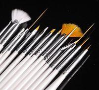 15 PCS Nail Art Design Set Dotting Painting Drawing Polish B...