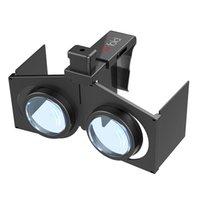 VR Fold V1 Портативный Складная Ultralight 3D VR виртуальной реальности Google Фильм Игры Очки для Android ОС IOS ПК