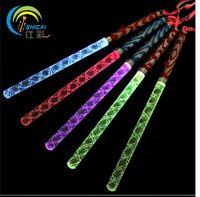 26CM Acrylic LED Glowing Sticks Concert Bar Flashing wands L...