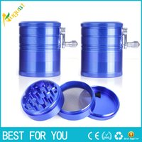 Four layer of aluminum alloy hot new grinding hand smoke det...