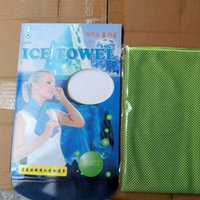 ICE COLD COOLING TOWEL SPORTS COOL TOWELS Enduring Running J...