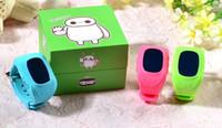 Q50 Montre à glissière pour enfants Smart Watch avec SIM Suivi de GPS anti-perdu SOS Call Location Finder Fonctions du podomètre du moniteur à distance