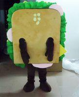 Hot delicious Sandwich Mascot Costume EVA food Cartoon Cloth...