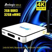 S912 Android 6. 0 OTT TV Box Octa Core 64 bit 2GB DDR3 32GB E...