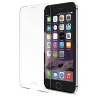 Pour iphone 6 Plus iphone 6S plus 5S Samsung Galaxy S7 S6 Top qualité en verre trempé de protection d'écran 0.2MM 9H 2.5D sans forfait