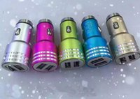 Car Charger Safety, Hammer Design Car Charger, Alloy Dual US...