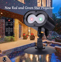 New Red and Green Alien Wireless Control Laser Christmas Lig...