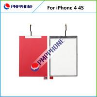 OEM pièces de réparation écran LCD rétro-éclairage du film pour iPhone 4 4S rétroéclairage rénovation film de rétro-éclairage pour 4 séries