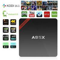 Amlogic S905X TV Box A95X Android 6. 0 Box 1G 8G Quad core 2....