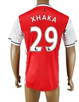 Popular Customized Thai Quality Arsenal HOME 29 XHAKA Soccer...