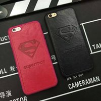 US Superman Diamond S logo for iphone6 Case Pu Letters Phone...