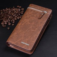 Good quality wholesale price Business men big space wallets ...