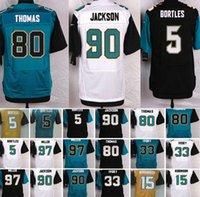2016 Men Jaguars #5 Bortles #97 Miller #15 Robinson #80 Thom...