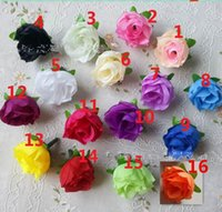 Small Silk Rose Heads Decorative Flowers Artificial Wholesal...
