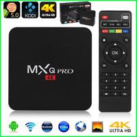 MXQ Pro Android TV Box Amlogic S905 Quad Core Android5.1 1G HDMI 2.0 WIFI 4K Коди 15,2 Полный загружен дополнений