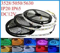 3528 5050 3650 SMD светодиодные ленты Lights 5M 300LEDs Водонепроницаемый гибкие Светодиодные полосы свет 12 60LEDs / м 120LEDs / м для рождественские огни # 22