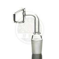 Tuyau de verre quartz bangers 10mm / 14 mm / 18 mm mâle / femelle par liquide Sci bend quartz skoming raccords de tuyauterie