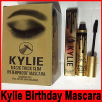 Kylie Magic thick slim waterproof mascara kylie Black Eye Ma...