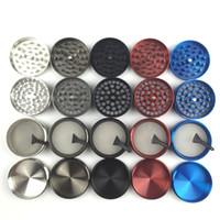 grinder 4 couches meuleuse 55mm en métal avec 5 couleurs Zicn alliage cnc meuleuses dents de poivre pour le tabac à fumer meuleuse herb