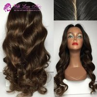 Body Wave Synthetic Lace Front Wig For Black Women High Qual...