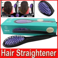 DAFNI Hair Straightener Brush Comb Hair Straightening Irons ...