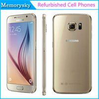 Reformado 100% original para Samsung Galaxy S6 5.1 pulgadas 4G LTE cta Core 3 GB de RAM 32 GB ROM 16MP teléfono móvil abierto