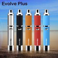 Аутентичные Yocan Evolve Plus Kit 1100mAh Аккумулятор E Сигареты Кварцевый Двойной Катушка для вапоризатора Комплекты пера Цвета