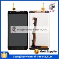 100% test pour Huawei honneur 3X G750 écran LCD avec écran tactile numériseur assemblage noir blanc couleur Livraison gratuite