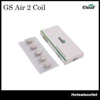 Authentic Eleaf GS Air Atomizer Head Pure Cotton Head 0.75ohm remplacement Coil Fit GS Air Atomizer / GS Air 2 atomiseur