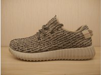 New PU&Wide sole Boost 350 Lighter Shoes Moonrock Oxford Tan...