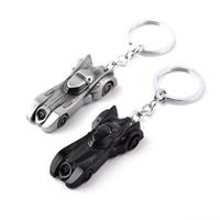 Batman modèle de voiture Arkham Knight Batman v Superman Batmobile porte-clés Keychain collection Cool Accessoires pour les hommes zj-0903718