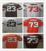 2016 Newest Wholesale Men' s Cleveland Football Jereys B...