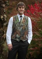 2016 Мода Camo шеи галстук Грум Real дерево шеи галстук шею галстук Camo камуфляж галстук Жених одежда аксессуары многоцветной