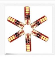 100PCS T10 W5W 5730 6 SMD LED Flash Strobe Silica Gel Wedge ...